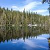 Beautiful reflections in Echo Lake