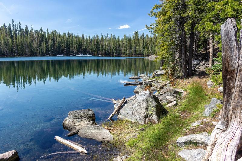 Western shore of Lower Twin Lake