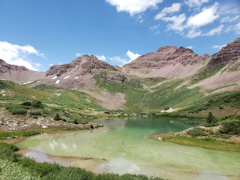 Twin Lakes from south end.
