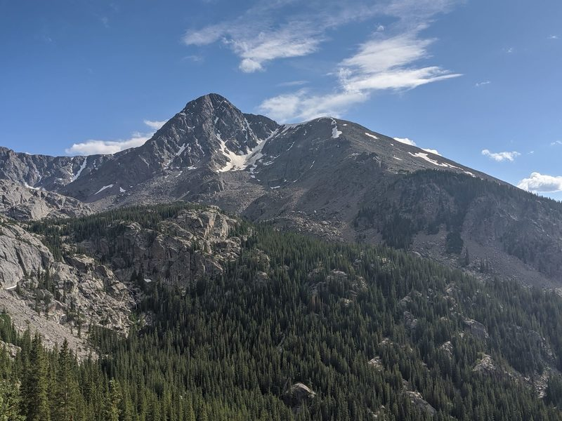From West side of Half Moon Pass