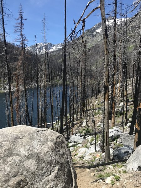 2017 fire burned most of lake shore