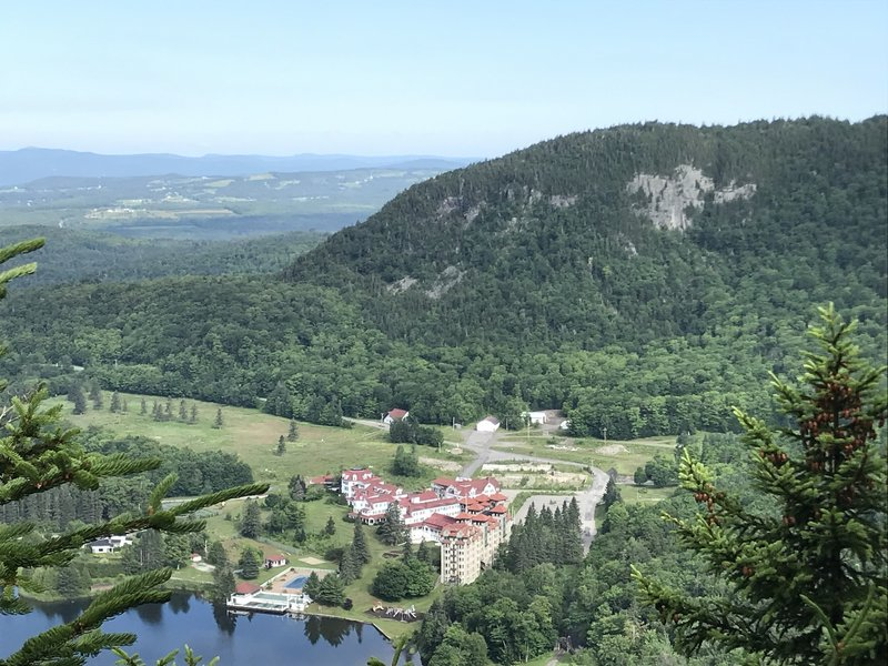 Balsams Resort Overlook