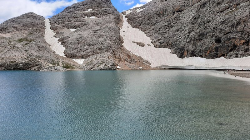 Lago di Antermoia (Lake of Antermoia)