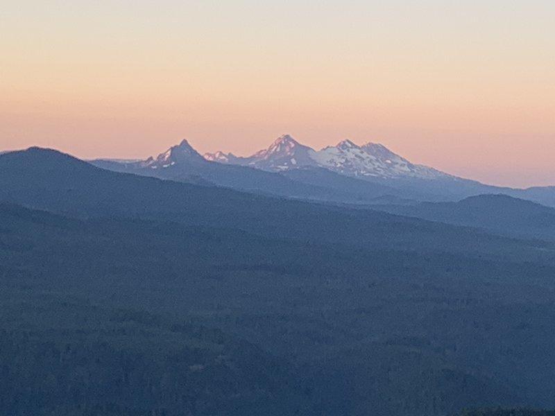 Three Sisters sunrise