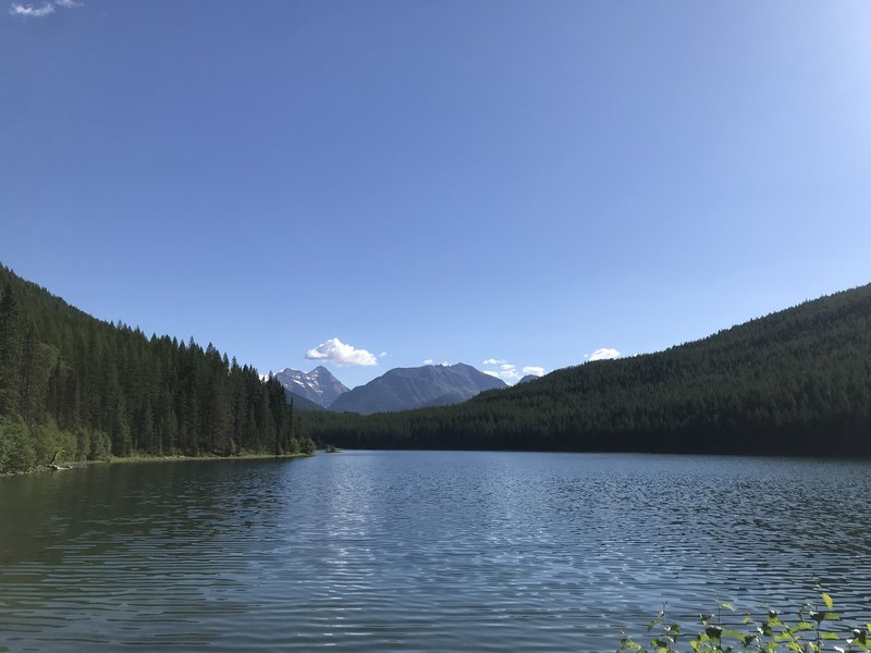 View of Stanton Lake from the south looking north.
