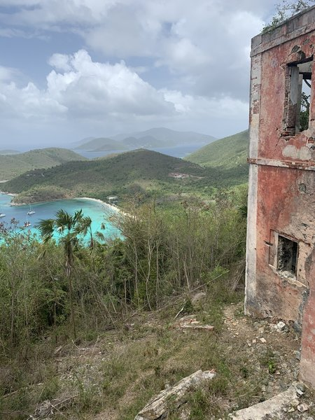 View from American Factory ruins.