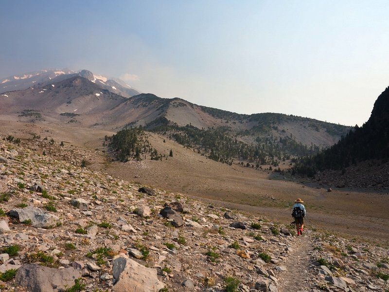On the Panther Meadow Trail below Red Butte.