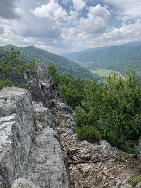 Summit of Seneca Rocks!