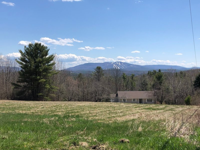 Looking South at Sunapee from North Road.