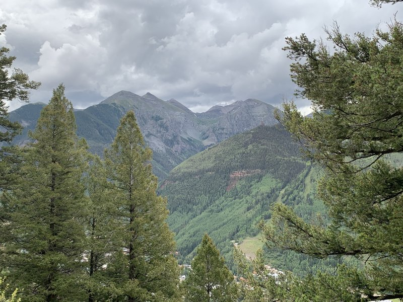 View from the trail.