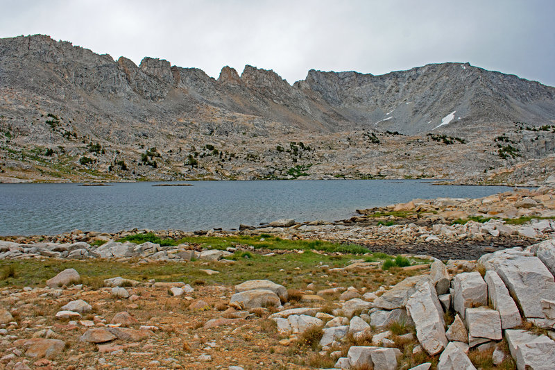 From the west side of French Lake, which is about 1/2 mile long.