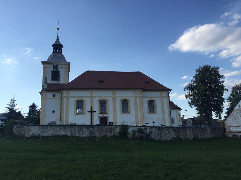 Zebnice Church