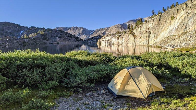 Camp at Steelhead Lake