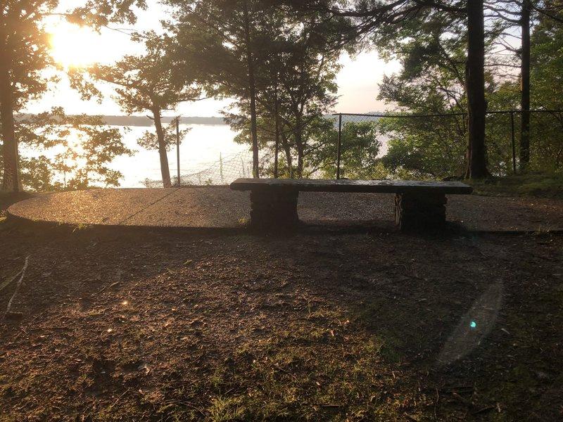 Bench on Handicap Trail