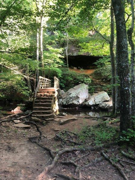 Bridge and Cave