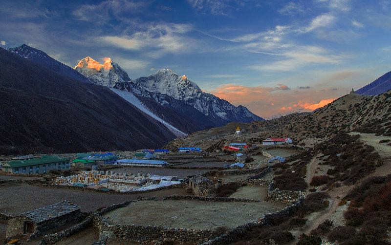 Dingboche Village, Everset Region, Nepal