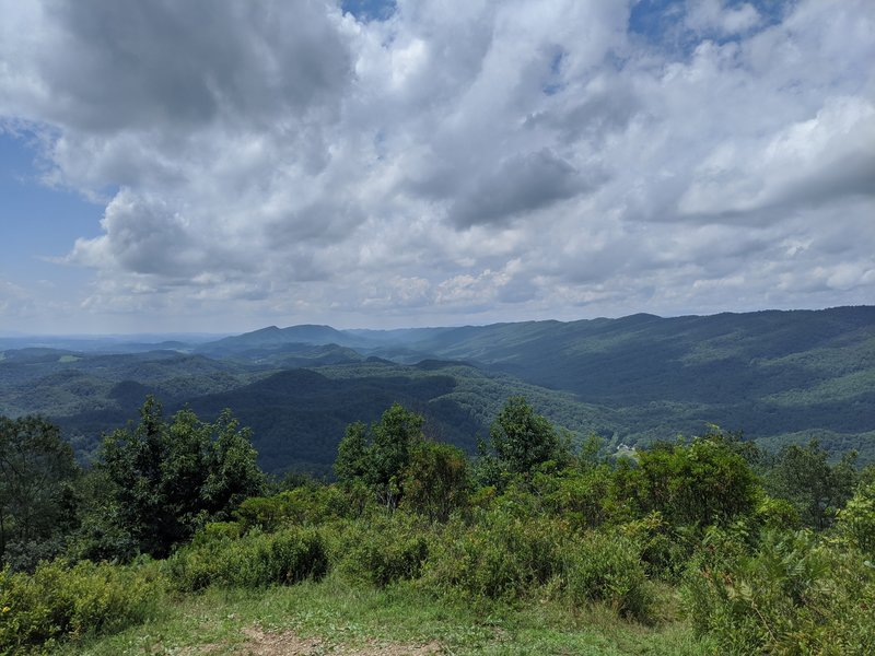 View from the top of Molly's Knob.
