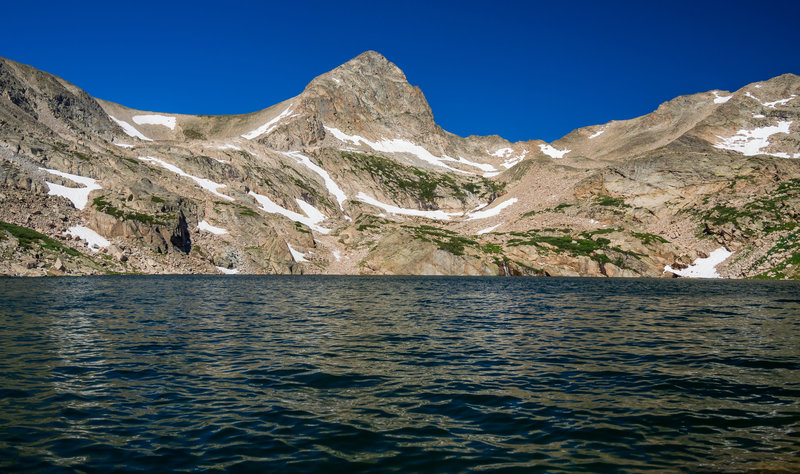Mt. Toll from Blue Lake.