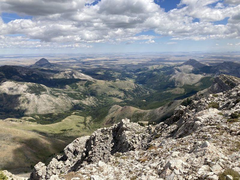 You can see Elk Creek Road below.