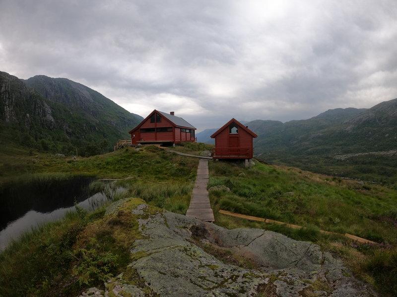 Huts at Blafjellenden