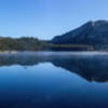 Tenaya Lake during sunrise