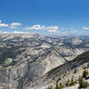 View north from Clouds Rest towards Tenaya Canyon