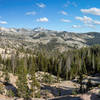 Cathedral Range from John Muir Trail