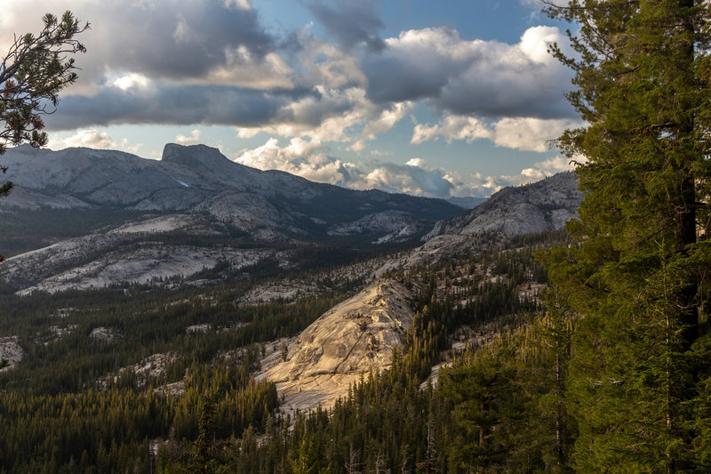Sunset over Yosemite National Park