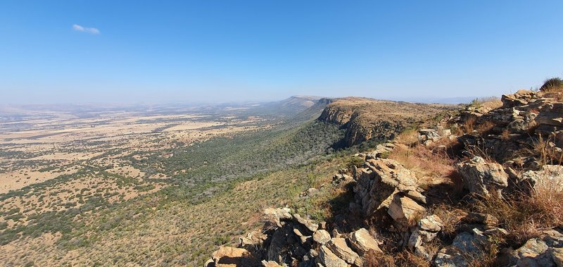 View from the top of Shelter rock
