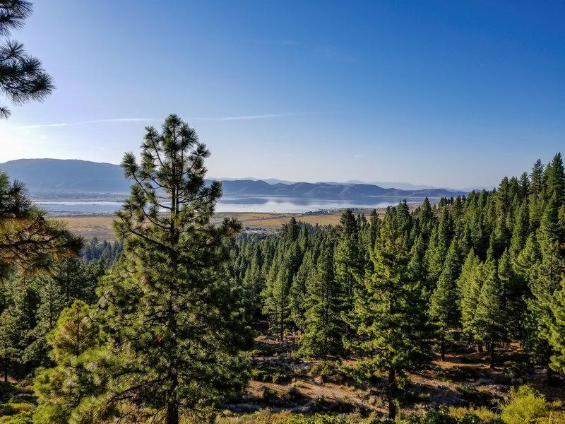Washoe Lake from Ophir Creek Trail