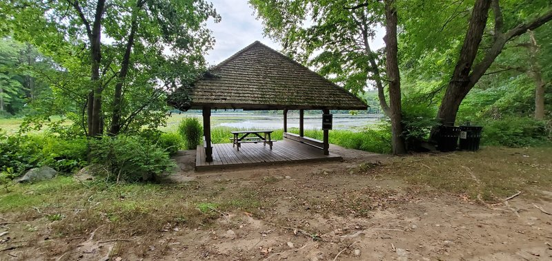 The Boat House on the Lakeside Trail