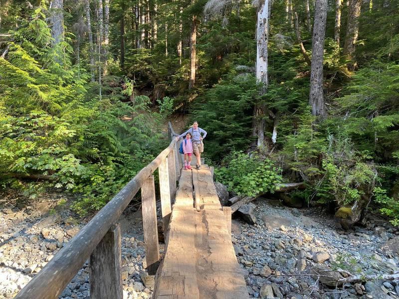 Bridge over Barclay Creek (dry)