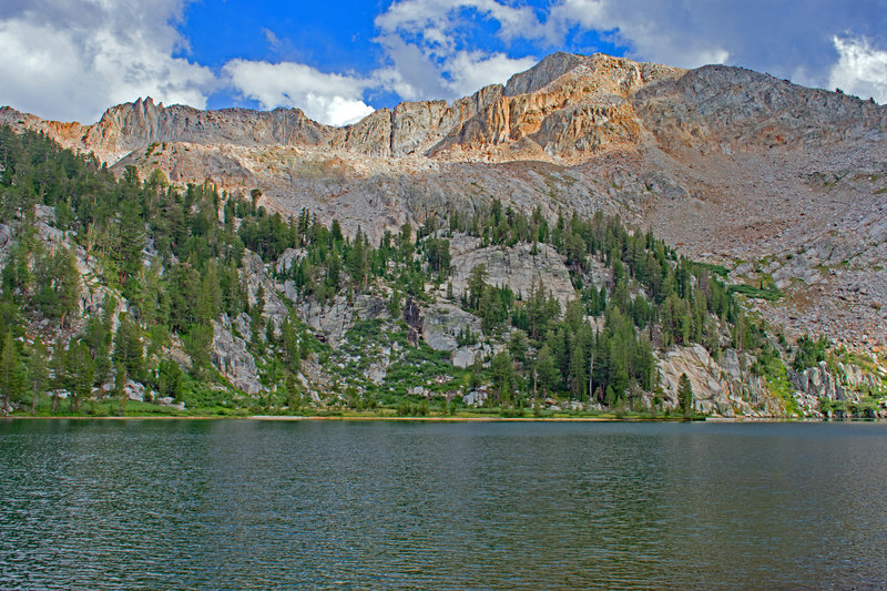 Silver Divide from Wilber May Lake