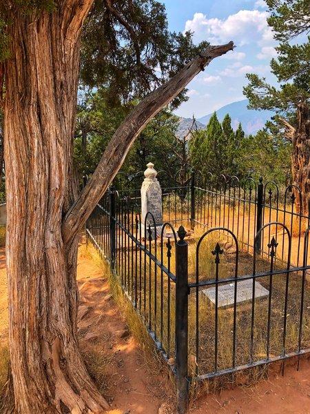 Doc Holliday Memorial Tombstone