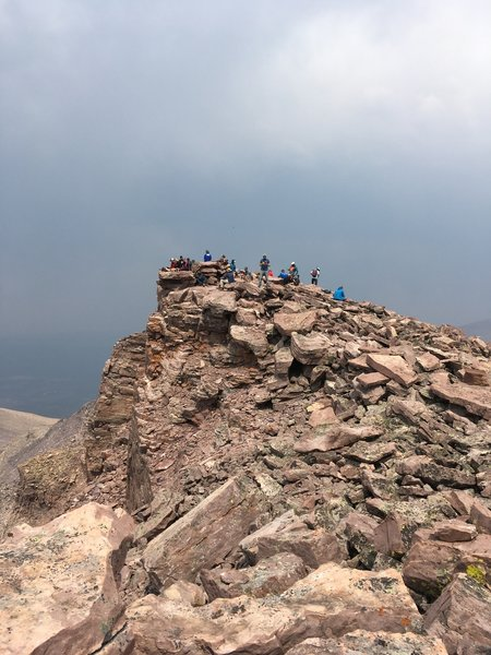 Very busy summit