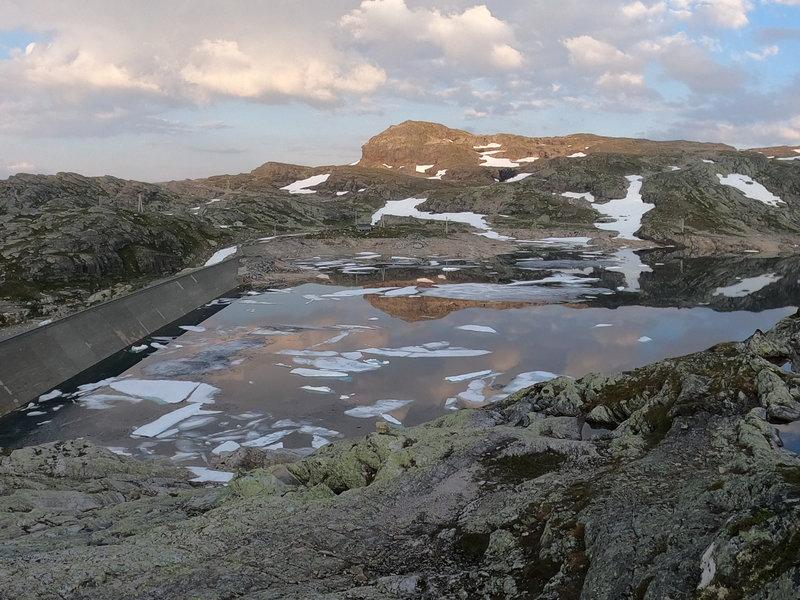 Lake Langavatnet