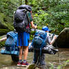 Venturing bravely into the unknown—from a backpacking trip earlier this year with my son and a couple of his friends