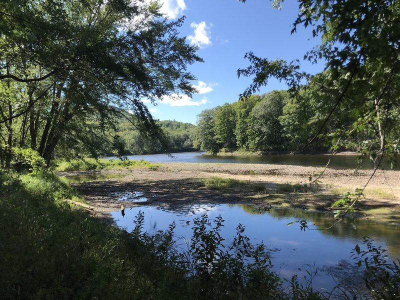View of the Androscoggin River.