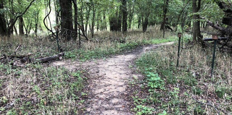 The northern portion of Bird Creek Trail has been eliminated.