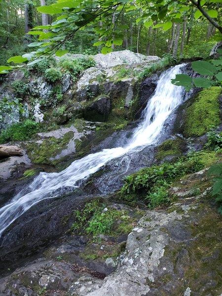 Lands run falls