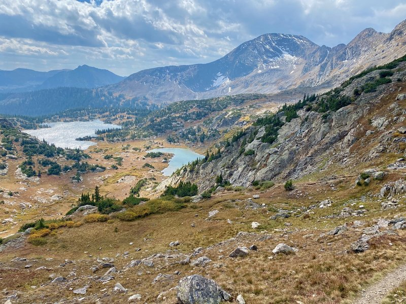 Great view of Missouri Lakes in September