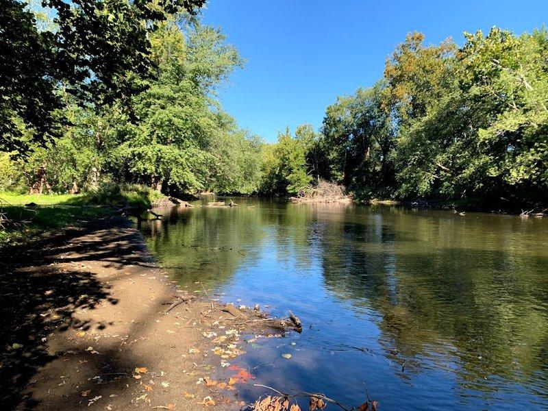 Tippecanoe River on Trail 5