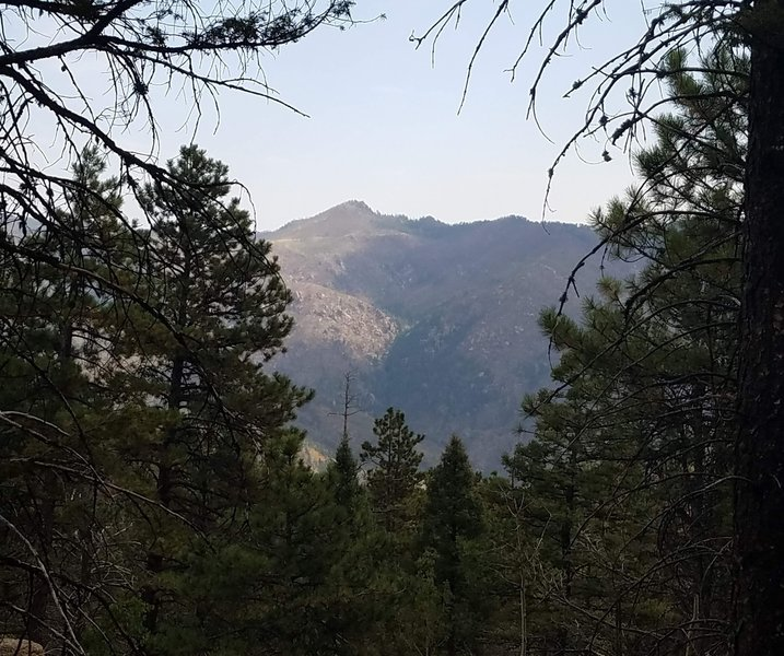 View of Crystal Peak.