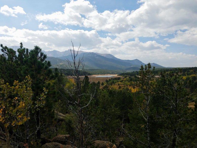 Overlook toward Crystal Reservoir
