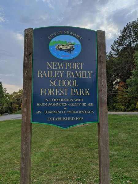 Bailey Park Welcome Sign