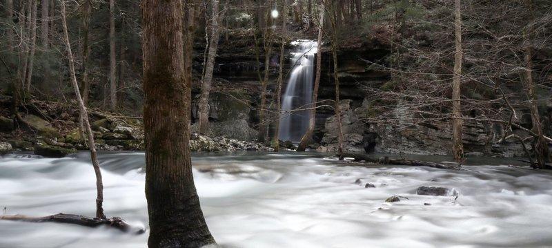 Waterfall in the Gulf