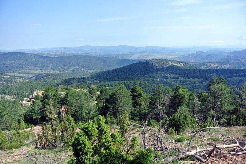 Vistas desde la senda de ascenso al pico