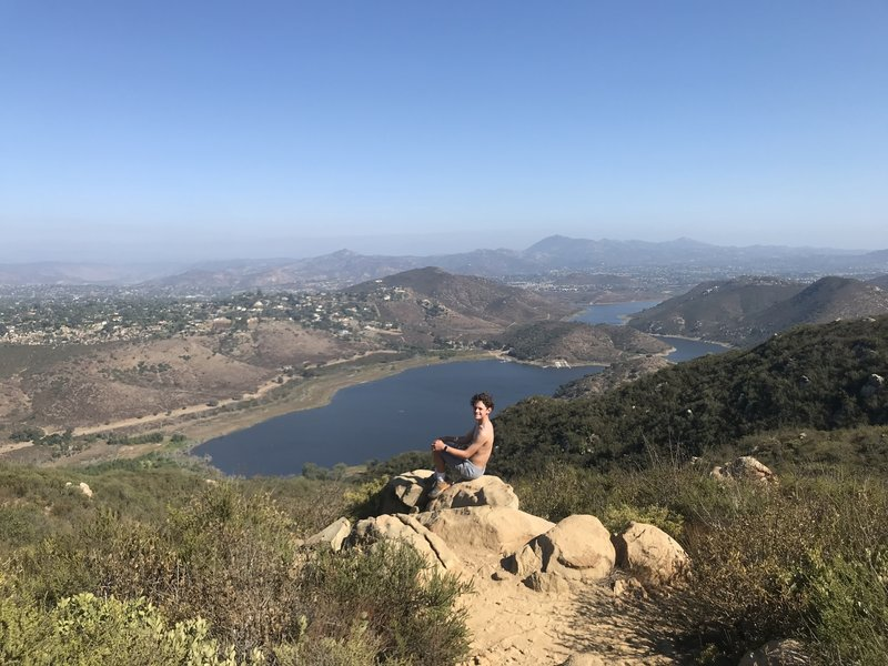 at Lake Hodges Overlook