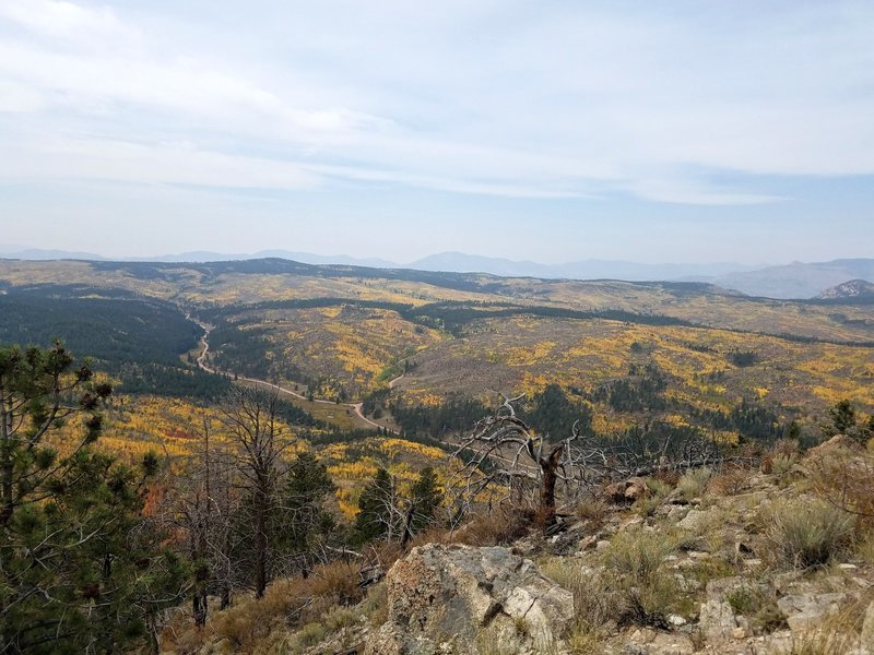View toward Tarryall Mountain Range from Summit of Signal Butte