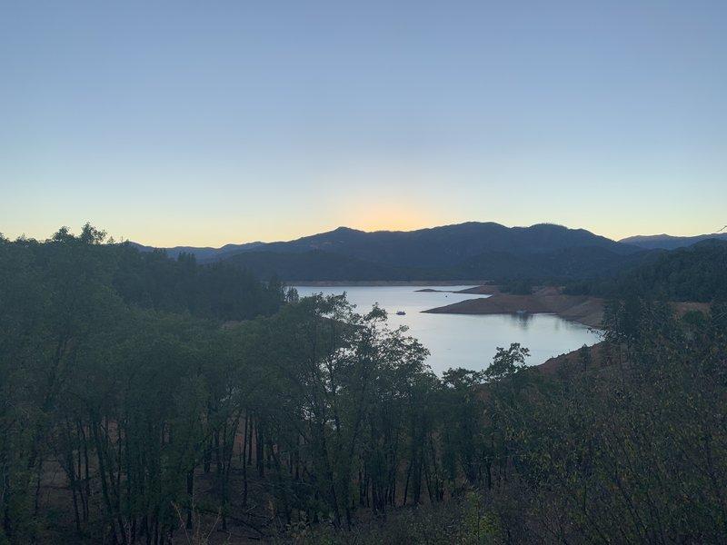 View of Shasta Lake